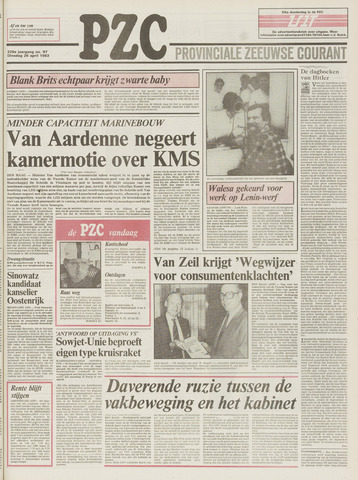 Provinciale Zeeuwse Courant 1983-04-26