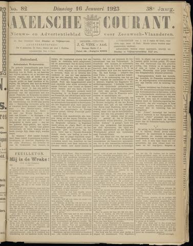 Axelsche Courant 1923-01-16