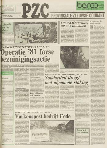 Provinciale Zeeuwse Courant 1981-03-21