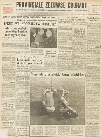 Provinciale Zeeuwse Courant 1964-04-01