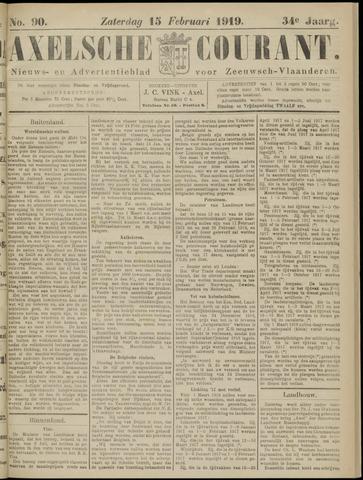 Axelsche Courant 1919-02-15