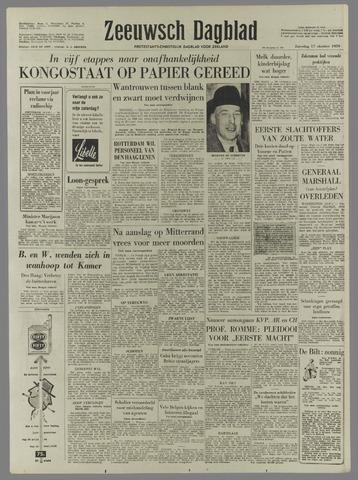 Zeeuwsch Dagblad 1959-10-17