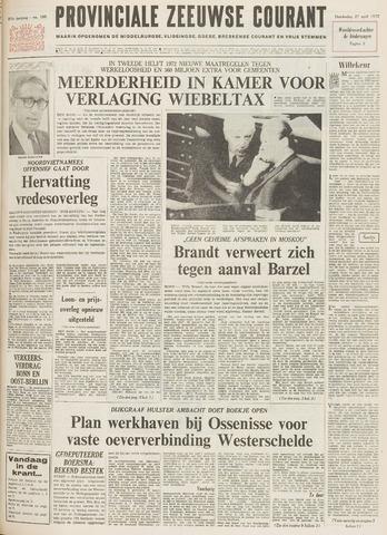 Provinciale Zeeuwse Courant 1972-04-27