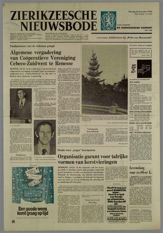 Zierikzeesche Nieuwsbode 1976-12-14