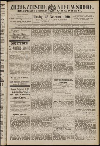 Zierikzeesche Nieuwsbode 1900-11-27
