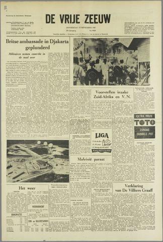 de Vrije Zeeuw 1963-09-19