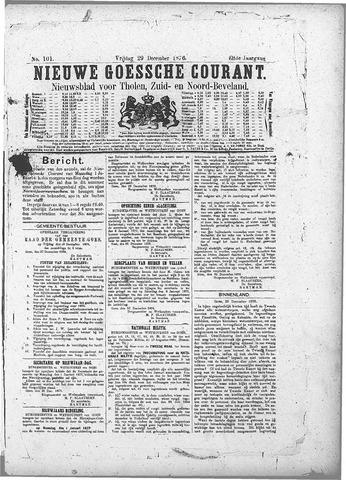 Nieuwe Goessche Courant 1876-12-29