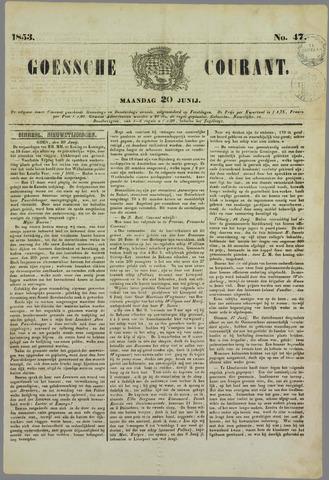 Goessche Courant 1853-06-20