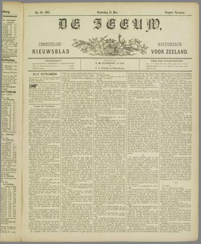 De Zeeuw. Christelijk-historisch nieuwsblad voor Zeeland 1895-05-16