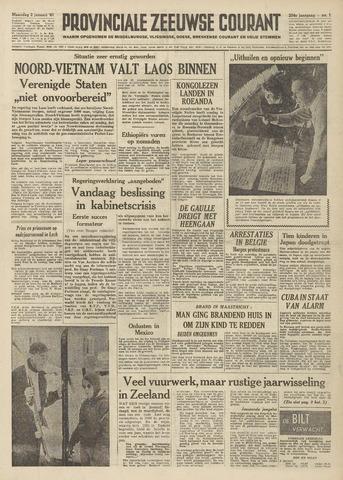 Provinciale Zeeuwse Courant 1961