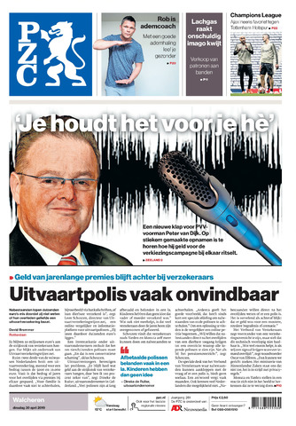 Provinciale Zeeuwse Courant 2019-04-30