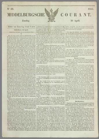 Middelburgsche Courant 1865-04-30