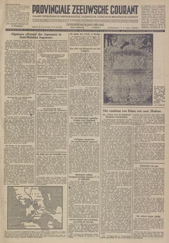 Provinciale Zeeuwse Courant 1942-01-08