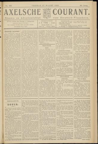 Axelsche Courant 1931-03-27