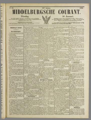 Middelburgsche Courant 1906-01-16
