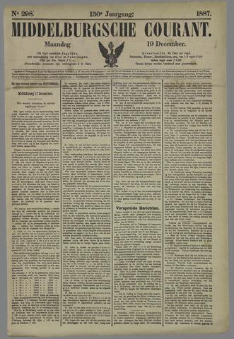 Middelburgsche Courant 1887-12-19