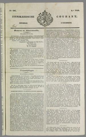 Zierikzeesche Courant 1844-12-17