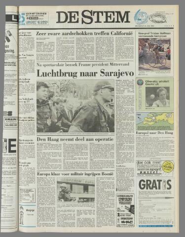 de Stem 1992-06-29
