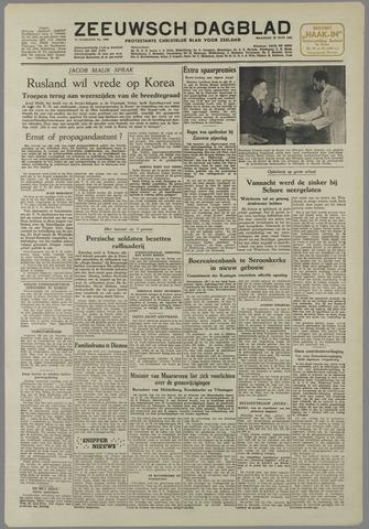 Zeeuwsch Dagblad 1951-06-25