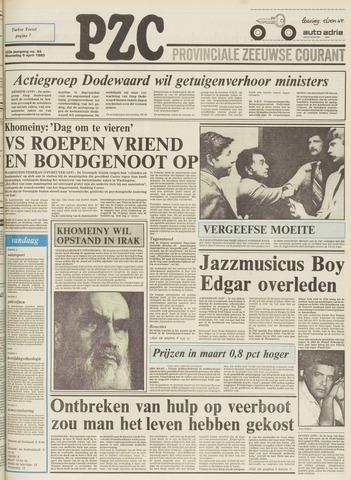Provinciale Zeeuwse Courant 1980-04-09