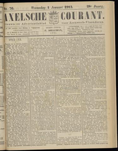 Axelsche Courant 1913