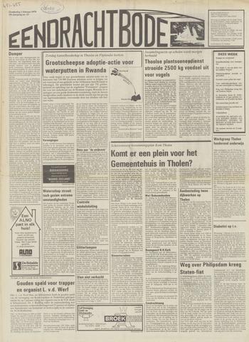 Eendrachtbode (1945-heden)/Mededeelingenblad voor het eiland Tholen (1944/45) 1979-02-01