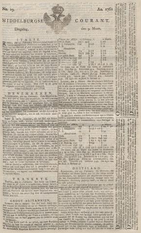 Middelburgsche Courant 1762-03-09