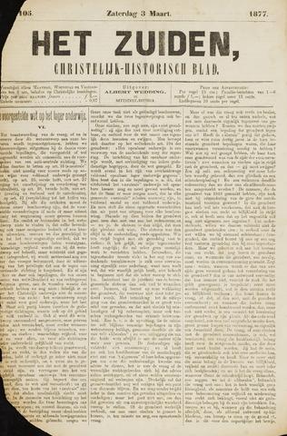 Het Zuiden, Christelijk-historisch blad 1877-03-03