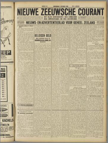 Nieuwe Zeeuwsche Courant 1930-10-09