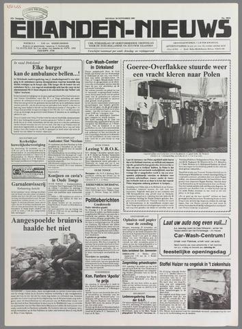 Eilanden-nieuws. Christelijk streekblad op gereformeerde grondslag 1989-11-28