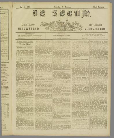 De Zeeuw. Christelijk-historisch nieuwsblad voor Zeeland 1895-11-28