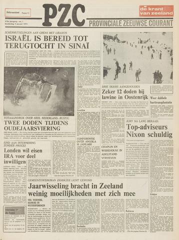 Provinciale Zeeuwse Courant 1975