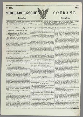 Middelburgsche Courant 1855-12-01