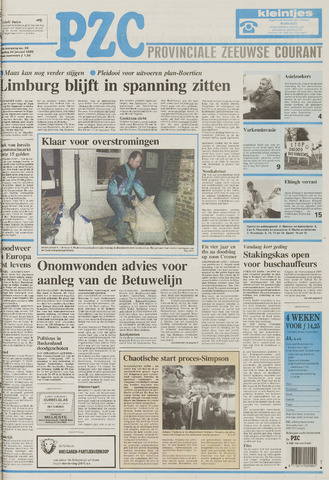 Provinciale Zeeuwse Courant 1995-01-24