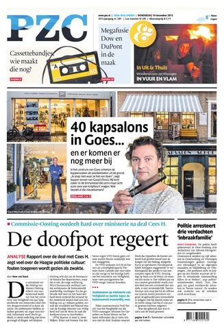 Provinciale Zeeuwse Courant 2015-12-10