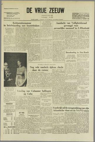 de Vrije Zeeuw 1963-06-21