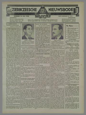 Zierikzeesche Nieuwsbode 1940-07-23