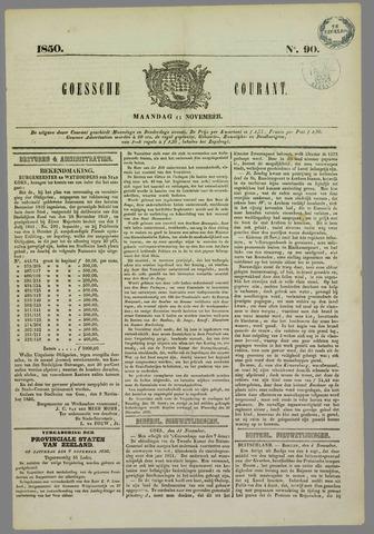 Goessche Courant 1850-11-11