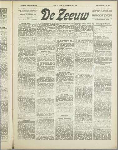 De Zeeuw. Christelijk-historisch nieuwsblad voor Zeeland 1934-08-08