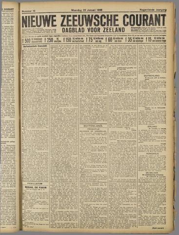Nieuwe Zeeuwsche Courant 1923-01-22