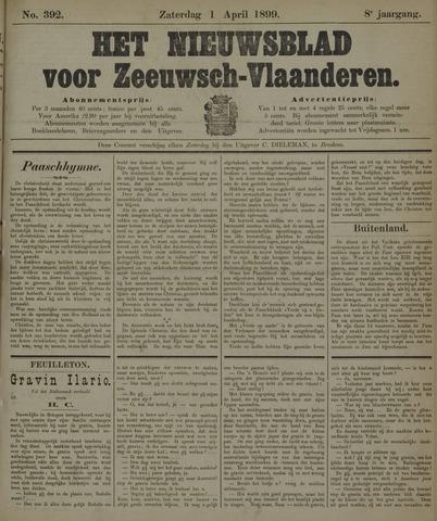 Nieuwsblad voor Zeeuwsch-Vlaanderen 1899-04-01