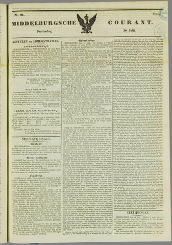 Middelburgsche Courant 1846-07-30