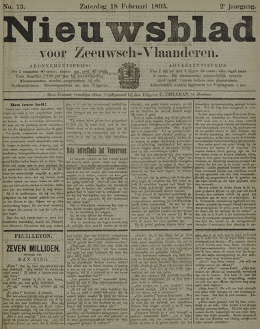 Nieuwsblad voor Zeeuwsch-Vlaanderen 1893-02-18