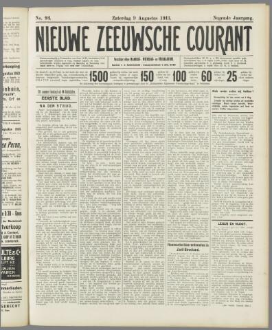 Nieuwe Zeeuwsche Courant 1913-08-09