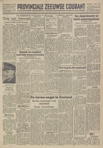 Provinciale Zeeuwse Courant 1948-05-01