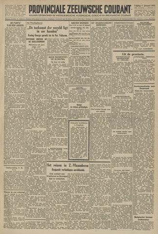 Provinciale Zeeuwse Courant 1946-01-11