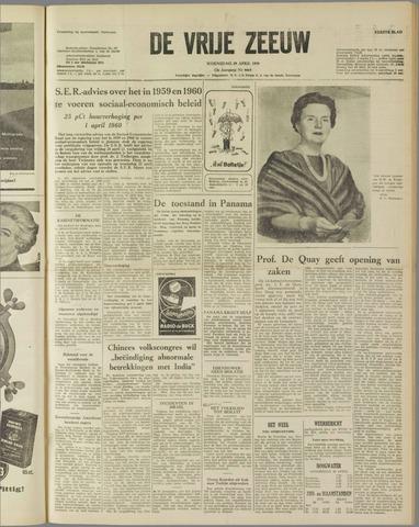 de Vrije Zeeuw 1959-04-29