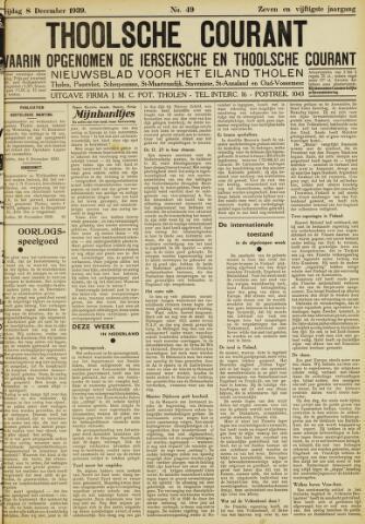 Ierseksche en Thoolsche Courant 1939-12-08