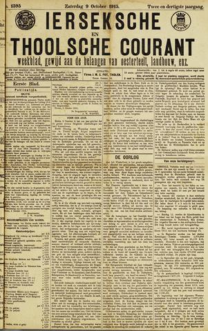 Ierseksche en Thoolsche Courant 1915-10-09