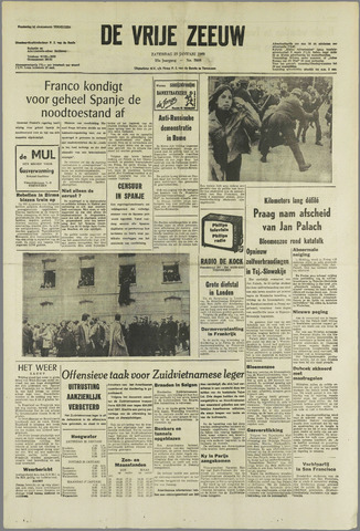 de Vrije Zeeuw 1969-01-25